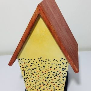 Other - handmade wooden birdhouse. A true work of art.  E
